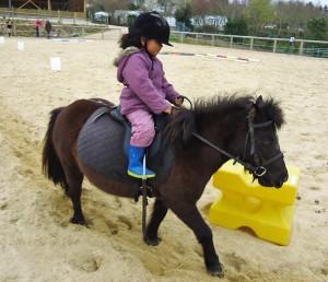 Cours d'équitation au centre équestre de Baden vacances de février