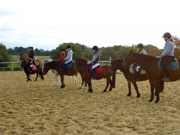 Cavalerie du centre équestre de Baden en Morbihan