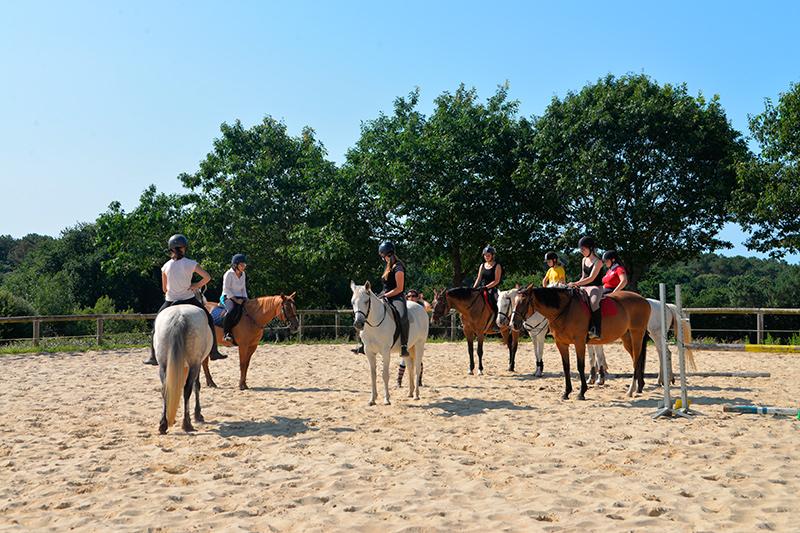 Stage d'équitation en été au centre équestre de Baden