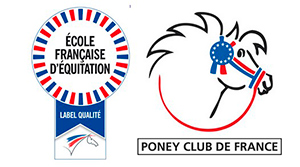 Label Poney Club de France Centre équestre Mané Guernehué