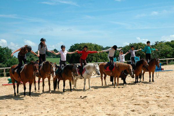 Stage d'équitation au centre équestre Mané Guernehué