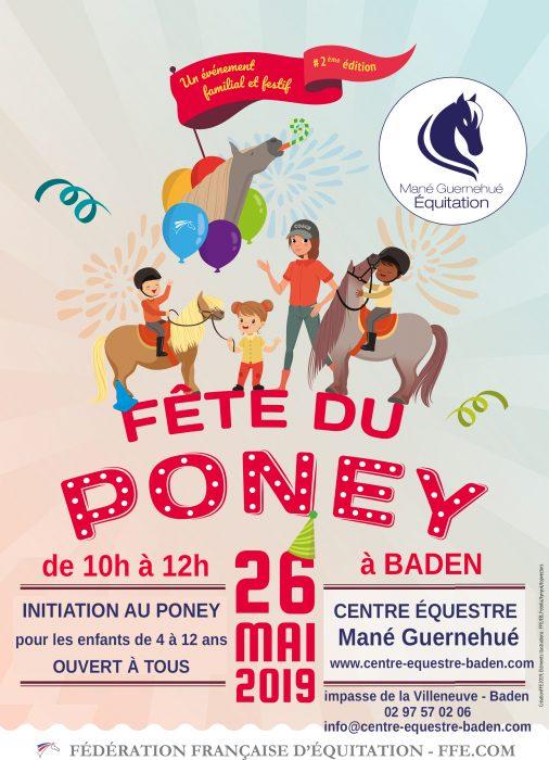 Fête du poney 2019 au centre équestre Mané Guernehué