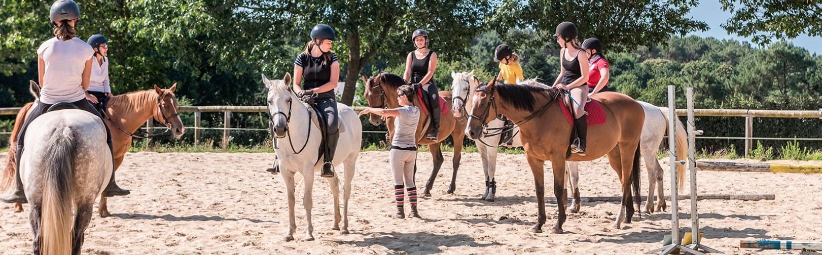 Cours d'équitation à l'année au centre équestre de Baden