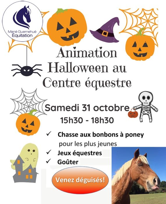 Animation Halloween au Centre équestres de Baden