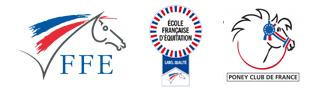 Centre équestre Mané Guernehué Baden Golfe du Morbihan FFE Label poney club de France